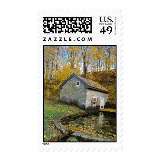 Spring House in Fall Stamps