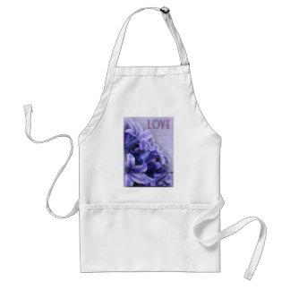 Spring Hyacinths Adult Apron