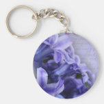 Spring Hyacinths Keychain