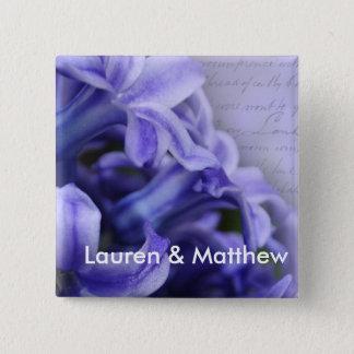Spring Hyacinths Pinback Button