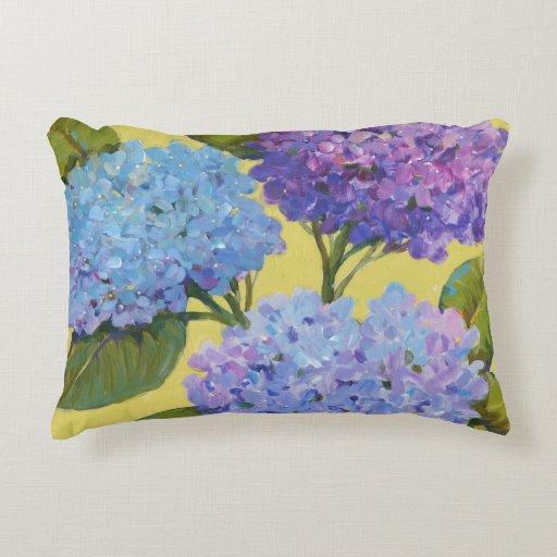 Spring Hydrangeas I Decorative Pillow Zazzle