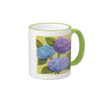 Spring Hydrangeas I Ringer Mug