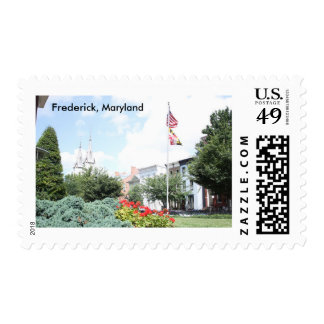 Spring in Frederick, Maryland Postage Stamp