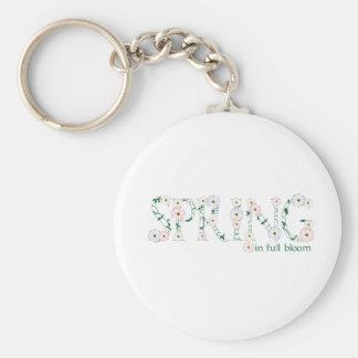 Spring In Full Bloom Keychain