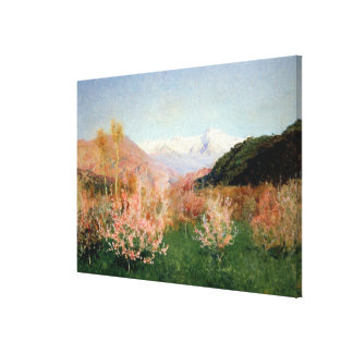 Spring in Italy, 1890 Stretched Canvas Prints