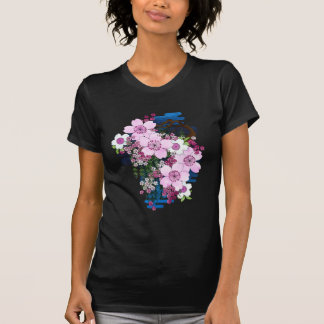 Spring in Japan - Cute Girly Kimono Style T-Shirt
