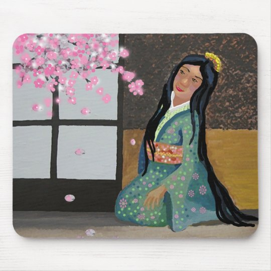 Spring in Japan Mouse Pad