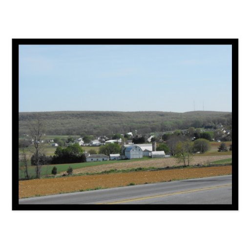 ~ Spring in Lancaster County ~ 59 Postcard