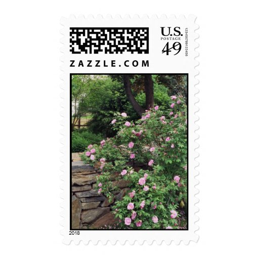 Spring in New England Postage Stamp