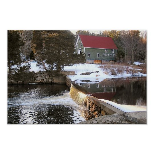 Spring In New Hampshire Poster