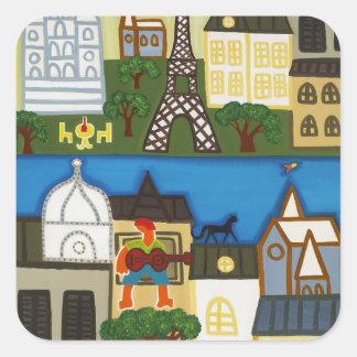 Spring in Paris 2006 Square Sticker