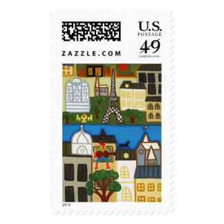 Spring in Paris 2006 Stamp
