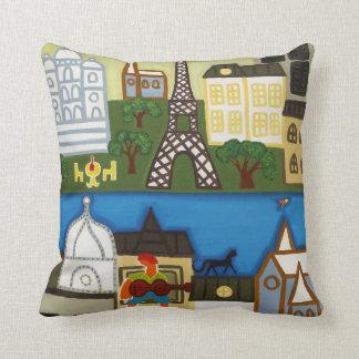 Spring in Paris 2006 Throw Pillow