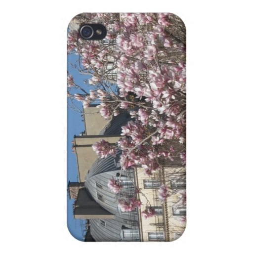 Spring in Paris Cover For iPhone 4