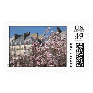 Spring in Paris Postage