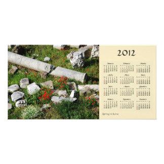 Spring in Rome 2012 Calendar Photo Card