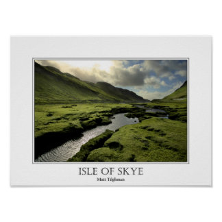 Spring in Scottish Highlands Poster