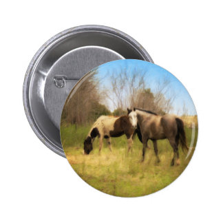 Spring in the Country Pinback Button