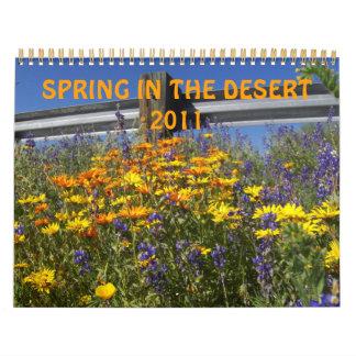 SPRING IN THE DESERT CALENDAR