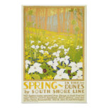 Spring- In The Dunes Posters