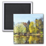 Spring in the Park Refrigerator Magnet