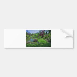 Spring in the Schedel Garden Bumper Sticker
