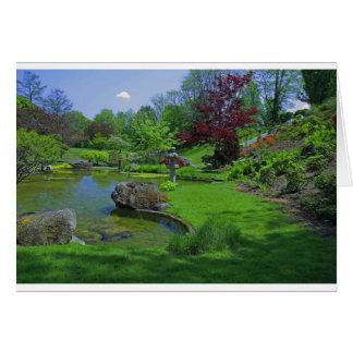Spring in the Schedel Garden Card