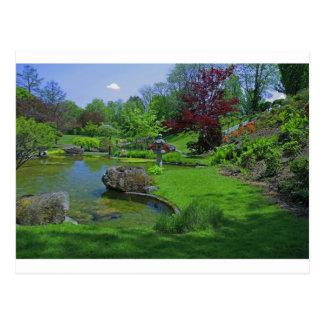 Spring in the Schedel Garden Postcard