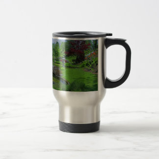 Spring in the Schedel Garden Travel Mug