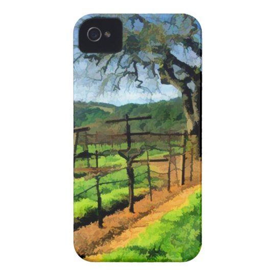 Spring in the Vineyard iPhone 4 Case-Mate Case