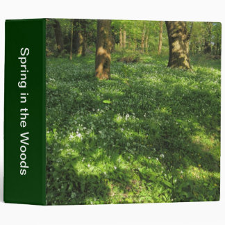 Spring in the Woods Binder
