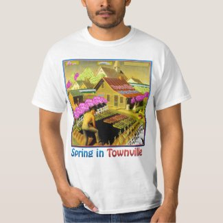 Spring in Townville T-Shirt