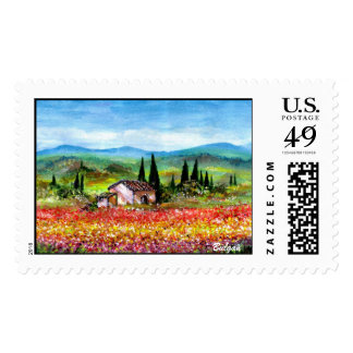 SPRING IN TUSCANY 2 STAMPS