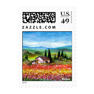 SPRING IN TUSCANY 2 POSTAGE