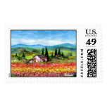 SPRING IN TUSCANY 2 POSTAGE STAMP