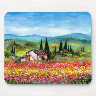 SPRING IN TUSCANY - Customized Mouse Mats