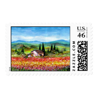 SPRING IN TUSCANY STAMPS