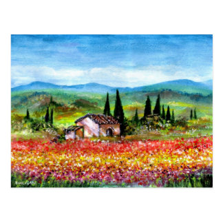 SPRING IN TUSCANY POSTCARDS