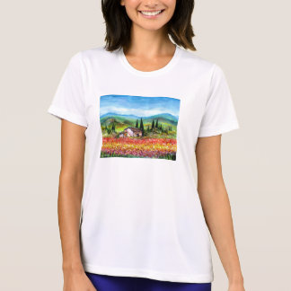 SPRING IN TUSCANY T SHIRT