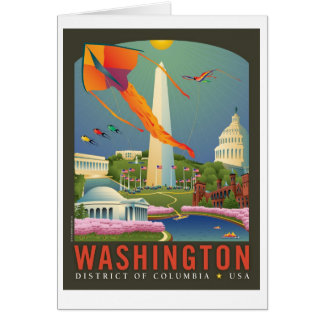 Spring in Washington D.C. Card