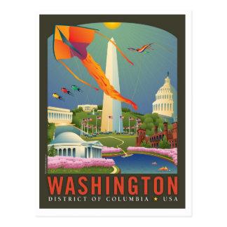 Spring in Washington D.C. Postcard
