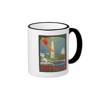Spring in Washington D.C. Ringer Mug