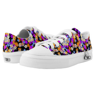 """""""Spring In Your Step"""" Flower Print Sneakers Printed Shoes"""