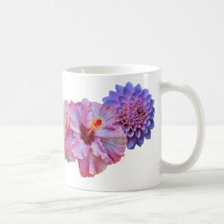 Spring Into Bloom Overlapping Flower Print Mug