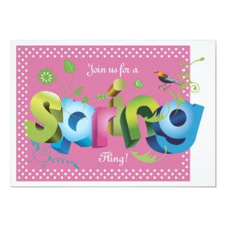 Spring Invitation