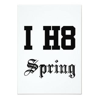 spring custom invitations