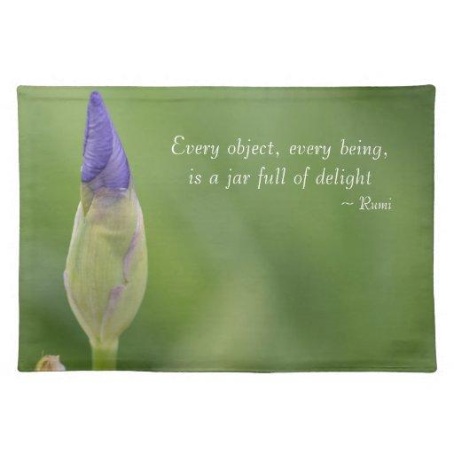 Spring Iris Placemats