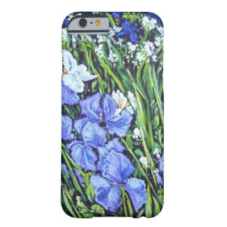 SPRING IRISES BARELY THERE iPhone 6 CASE
