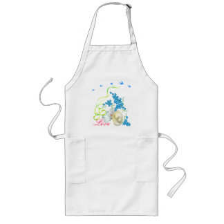 Spring is coming long apron