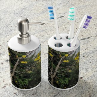 Spring is Coming - Tooth Brush/Soap Dispenser